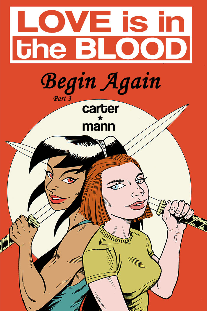 LOVE IS IN THE BLOOD: Begin Again Chapter #3 cover