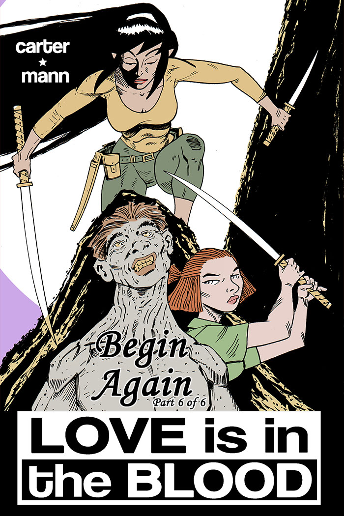 LOVE IS IN THE BLOOD: Begin Again Chapter #6 cover
