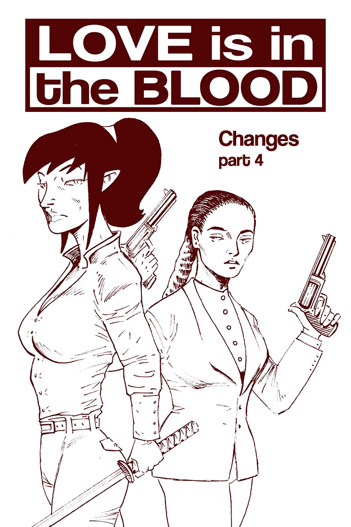 LOVE IS IN THE BLOOD: Changes – Chapter #4 cover