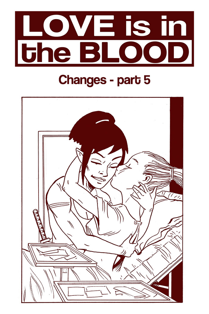 LOVE IS IN THE BLOOD: Changes – Chapter #5 cover