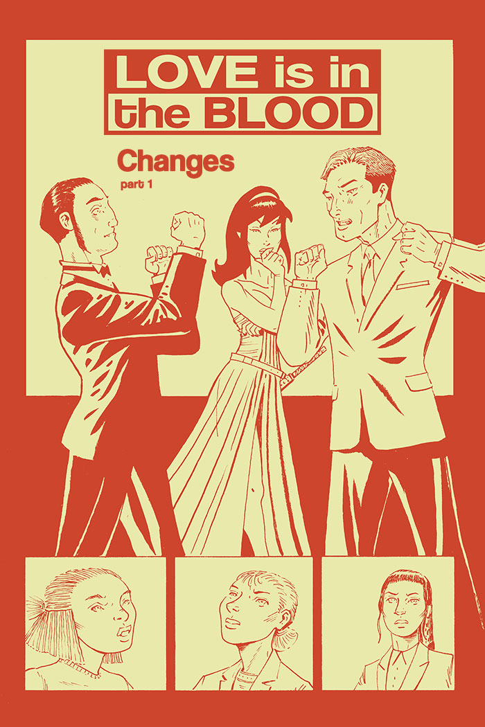 LOVE IS IN THE BLOOD: Changes – Chapter #1 cover