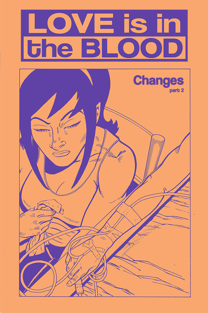 LOVE IS IN THE BLOOD: Changes – Chapter #2 cover